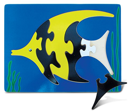 Puzzled Angel Fish Wooden Fun Puzzle