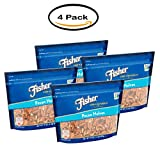PACK OF 4 - Fisher Chef's Naturals Pecan Halves, 16 oz