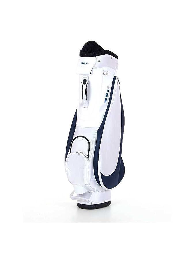 KV Lady Bird - Bolsa de carro para palos de golf, color blanco/negro: Amazon.es: Deportes y aire libre