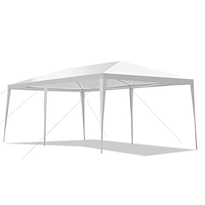 simplyUSAhello 10' x 20' Outdoor Party Wedding Canopy Gazebo Pavilion Event Tent : Garden & Outdoor