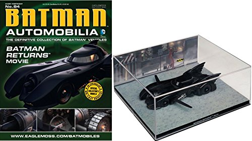 Eaglemoss DC Batman Automobilia #84 Batman Returns Batmobile Figurine