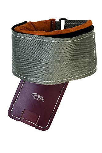Weaver Leather Steel Support Pad Old Buckingham and Bashlin Climber, Gray/Brown from Weaver Leather