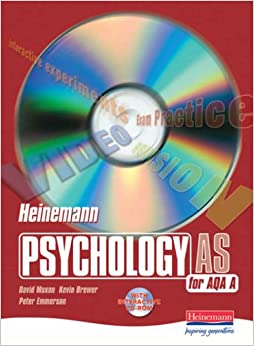 Heinemann Psychology for AQA A: AS Student Book: AS Student Book with CD-ROM