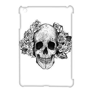 Personalized New Print Case for Ipad Mini 3D, Skulls & Rose Phone Case - HL-527895