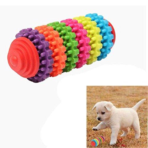 [해외]Ikevan 1 pc 다채로운 고무 애완 동물 강아지 강아지 치과 Teething 건강한 치아 잇몸 씹는 장난감/Ikevan 1 pc Colorful Rubber Pet Dog Puppy Dental Teething
