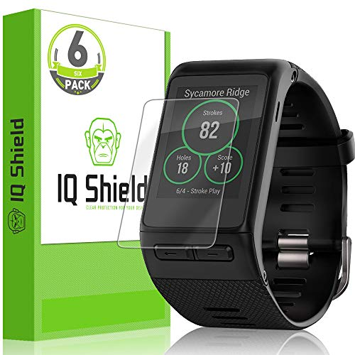IQ Shield Screen Protector Compatible with Garmin Vivoactive HR (6-Pack) LiquidSkin Anti-Bubble Clear Film