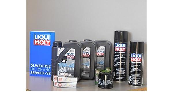 Kit de mantenimiento Honda CBR 1000 RR aceite de aceite Iridium Bujía Service Inspección: Amazon.es: Coche y moto