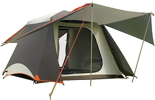 Cvbndfe-SPORT Tienda de Playa Carpa automática Camping Pérgola Familia Camping Pesca al Aire Libre Ocio Velocidad Carpa Abierta Sombrilla Lluvia Senderismo, Canopy con Bolsa de Transporte: Amazon.es: Hogar