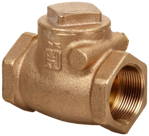 (Milwaukee Valve 509 Series Bronze Swing Check Valve, Class 125, 3/8