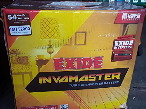 Best inverter battery for home use with price