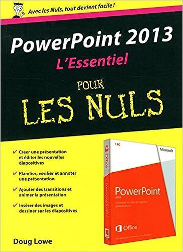Lire un PowerPoint 2013 : L'Essentiel pour les Nuls pdf ebook