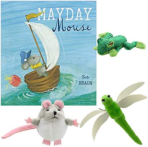 Mayday Mouse Book with Finger Puppets