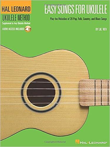 Amazon Easy Songs For Ukulele Hal Leonard Ukulele Method