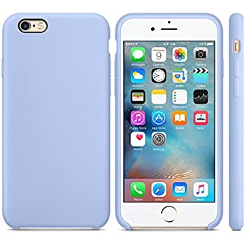 AutumnFall Ultra-thin Fashion Silicone Case for iPhone 6S / 6 4.7inch - Lilac