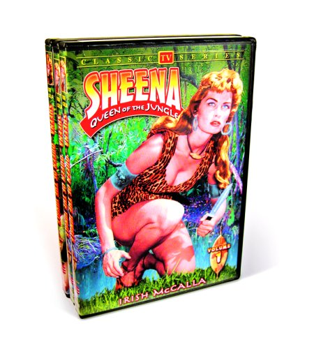 DVD : Sheena: Queen of the Jungle (Black & White, 3 Disc)