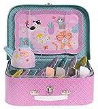 Jewelkeeper 15 Piece Kids Tin Tea Set & Carrying