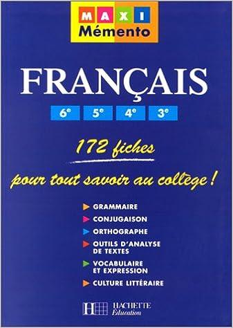 Manuels En Format Pdf A Telecharger Francais 6eme 5eme