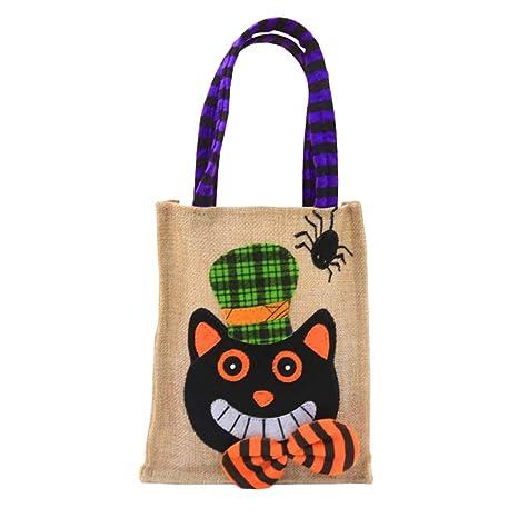 Amazon.com: Keebgyy bolsa de transporte de Halloween, bolsa ...
