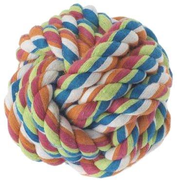 "UPC 844534007018, Petrageous Designs KaleidoROPE Balls, 3"" Rope Ball, Tug Dog Toy"