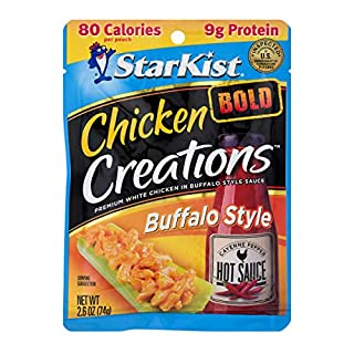 StarKist Chicken Creations BOLD Buffalo Style - 2.6 oz Pouch (Pack of 12)