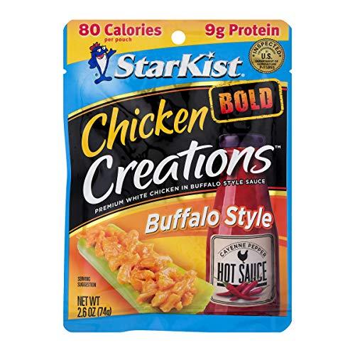 - StarKist Chicken Creations Bold, Buffalo, 12 Count