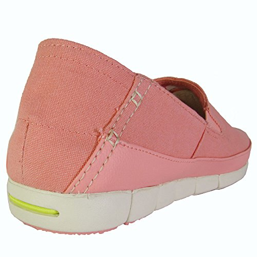 Loafer Stretch Melon Women's Crocs Stucco Sole U7zxwyaqZ