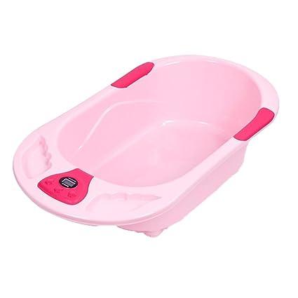 Bañera Niño bañera recién nacidos Termómetro antideslizante icheren ...