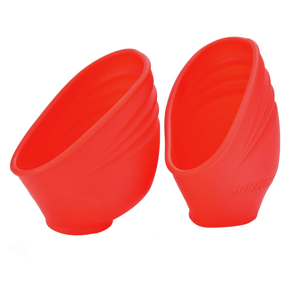 Orange DirtBikeClub PRO CAKEN Footpeg Protection Cover Foot Peg Guard Protector for CRF450X CRF250X CRF250R