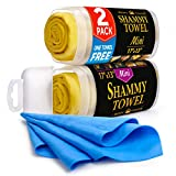 Best Car Shammies - Premium Shammy Towel for Car - 2 Pack Review