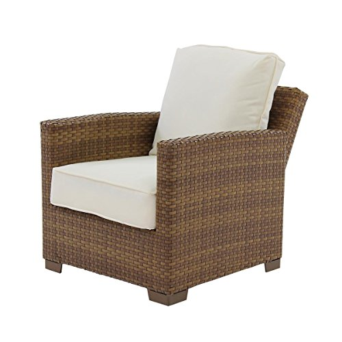 Panama Jack Outdoor St. Barths Recliner Lounge Chair with Cushion from Panama Jack Outdoor