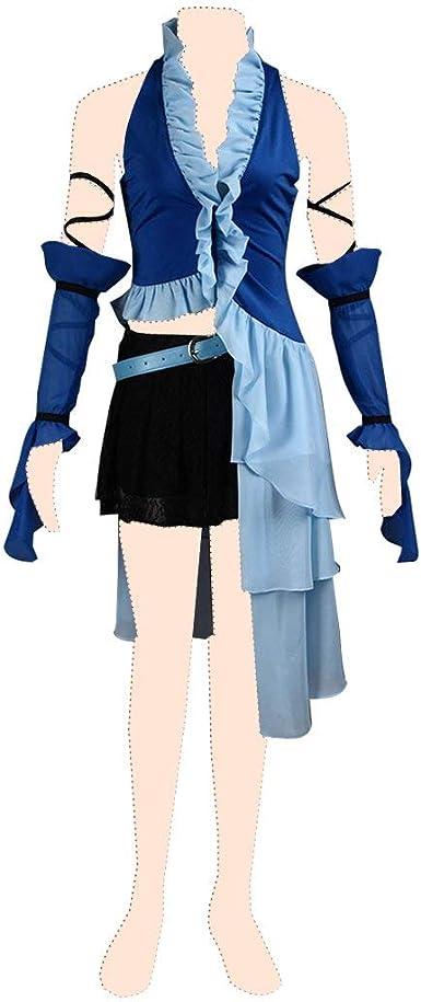 Final Fantasy X disfraz Cosplay Yuna 3rd ver-singing traje de niña ...