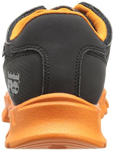 Groupe Motopropulseur Timberland Pro Hommes Alliage-orteil Eh Chaussure Industrielle Noir / Pro Orange Microfibre Et Textile