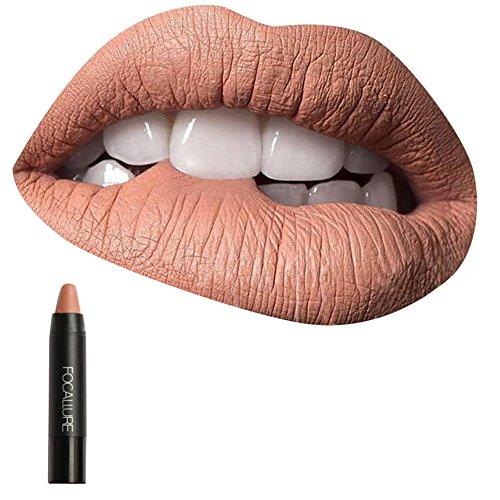 Women Cosmetics Matte Lip Gloss & Metallic Lip brillant Mois
