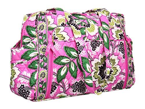 Vera Bradley Make Change Baby Bag in Priscilla Pink