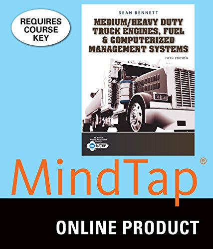 Price comparison product image MindTap Diesel Technology for Bennett's Medium/Heavy Duty Truck Engines, Fuel & Computerized Management Systems, 5th Edition