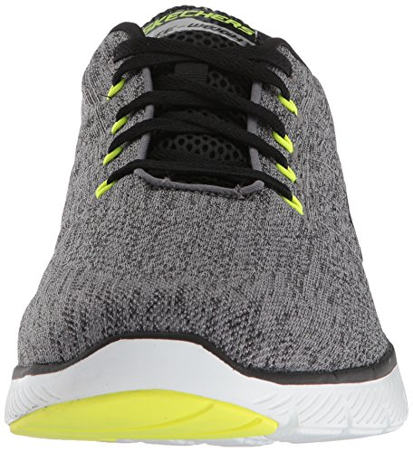 Chaussures Homme 3 Advantage Black Gris Stally Gybk de 0 Flex Skechers Grey Fitness RZUqAA