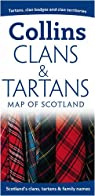 Collins Clans&Tartans Map of Scotland par Collins