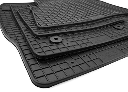 NEU! Gummimatten Ford Kuga II ab 2013 Fußmatten Gummi Original Qualität Auto Allwetter 4-teilig schwarz rund Druckknopf