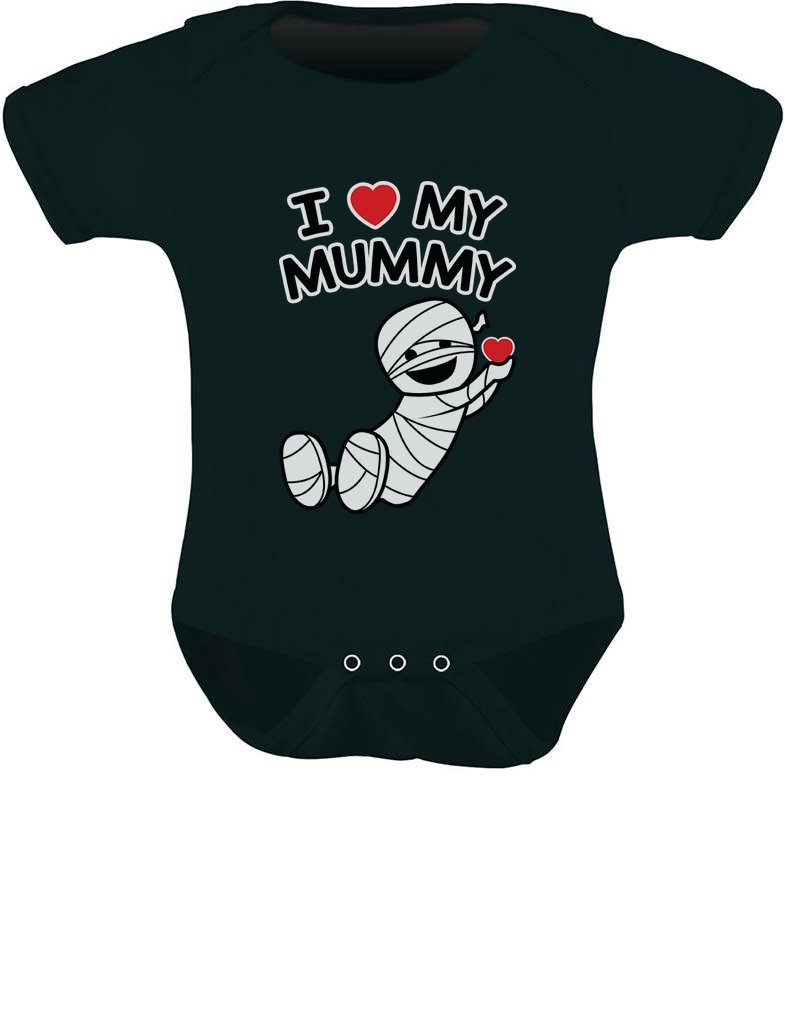 TeeStars – I Love My Mummy Cute Halloween Infant Outfit Baby Bodysuit
