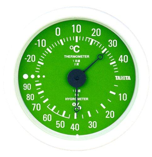 TANITA thermo-hygrometer Green TT-515-GR