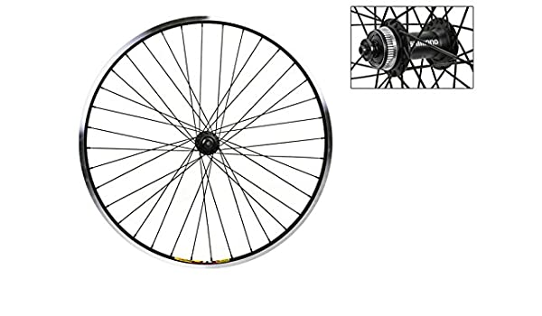"WHEEL MASTER  WEINMANN DOUBLE WALL 20/"" x 1.75/""  ALLOY BLACK BICYCLE FRONT WHEEL"