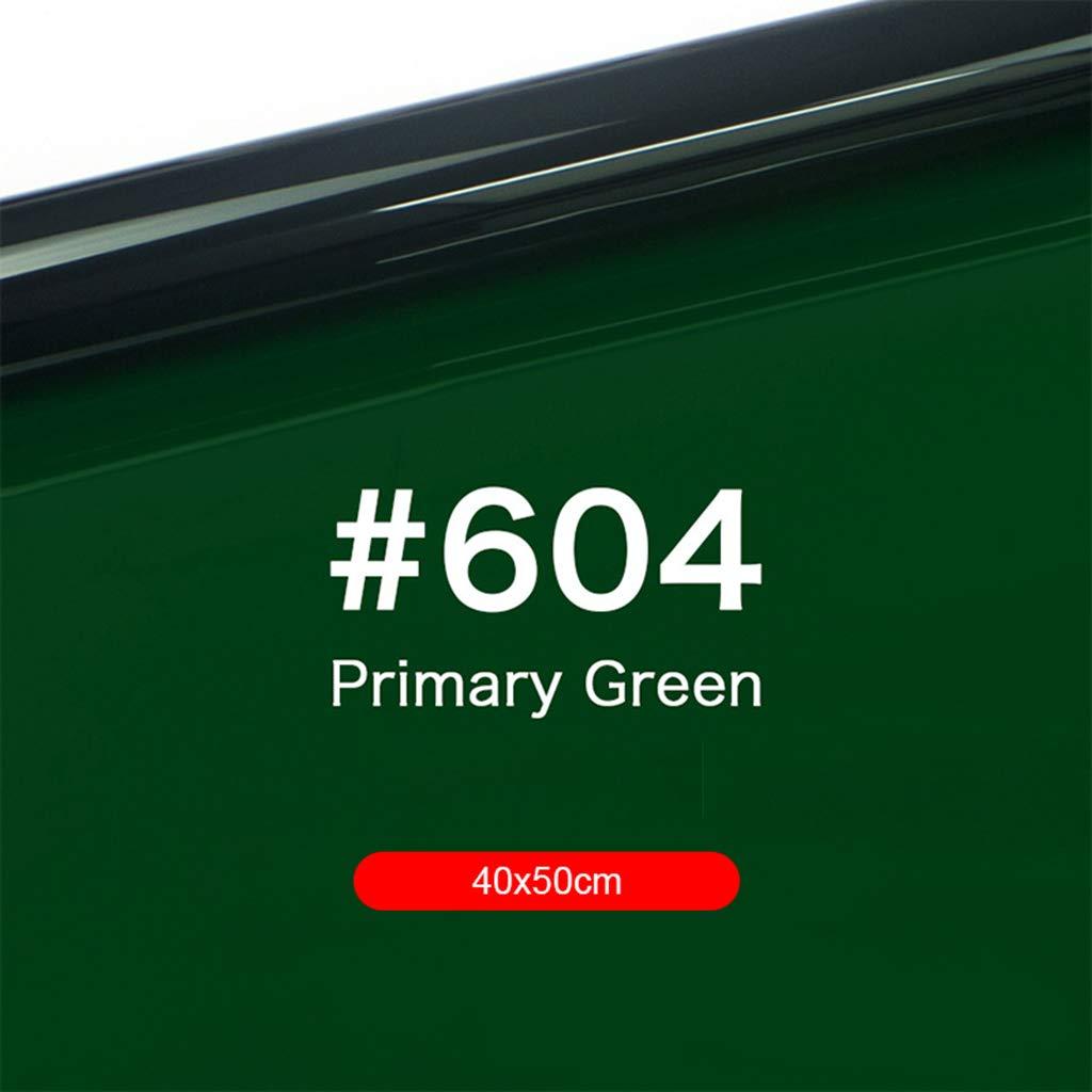 Green Gel Filter Colored Overlays Correction Gel Light Filter Transparent Color Film Plastic Sheets 40x50cm//15.74 x 19.68inch D DOLITY Gel Color Filter