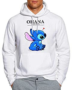 OHANA Lilo and stitch Hoodie Unisex Adults WF