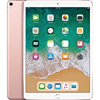 Latest Model Apple iPad Pro 9.7' Multi-Touch Retina Display, 128GB, WiFi + 4G LTE Cellular, A9X Chip, Bluetooth, 12MP iSight Camera, Smart Connector, Rose Gold
