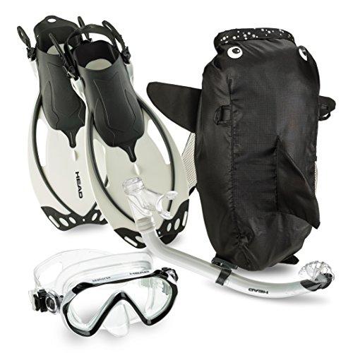 Mares Sea Pals Junior Mask Fin Snorkel Set (White, Small/9-13)