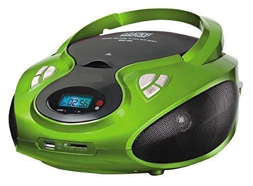 Tragbares Stereo CD-Radio mit CD MP3 Player AUX IN USB Wiedergabe PLL Radio Boombox Kopfhöreranschluss