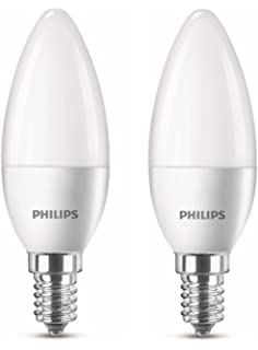 5w Lot 2 Culot Philips E145 40w Led Flamme Équivalent De Ampoules TlJ5cK3u1F