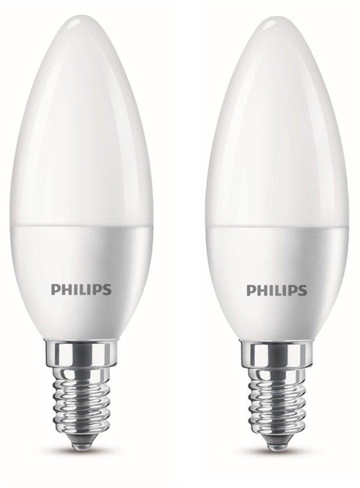 philips led lampe ersetzt 25 w eek a e14 warmwei 2700 kelvin 250 lumen matt doppelpack. Black Bedroom Furniture Sets. Home Design Ideas