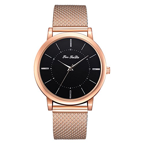 Honestyivan Women's Quartz Silicone Strap Analog Watches Buckle Casual Simple Slim Watch Wrist Watch Gift for Mom