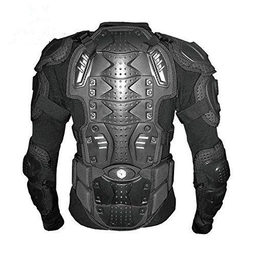 Scoyco AM02-2 Motocross body Armour Full body Protector Gears Racing Protective Guard Accessories (XX-Large, Black)